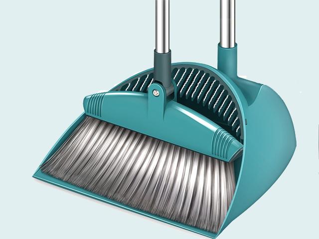 broom and dustpan